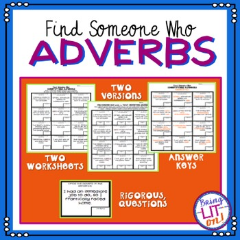 Adverbs - Find Someone Who