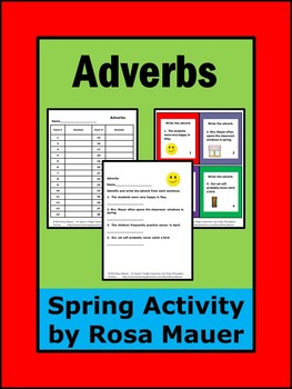 Spring Writing Adverbs