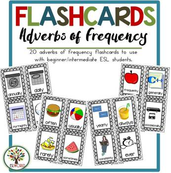 Adverbs of Frequency {Flashcards}