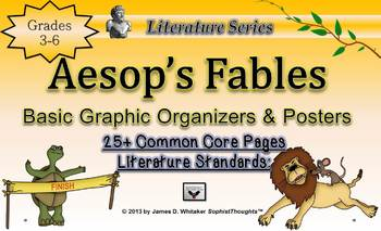 Aesop's Fables Basic Graphic Organizers Differentiation Te