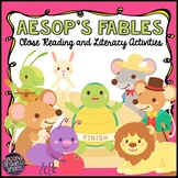 Aesop's Fables Close Reading and Literacy Activities