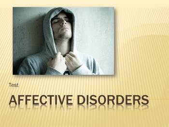 Affective Disorders Test