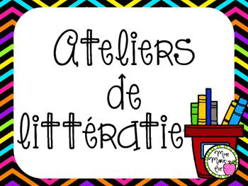 Affiches - Ateliers de littératie