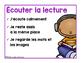 Affiches et fiches de consignation : centres de littératie