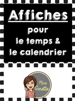 Affiches pour la météo (French)