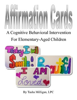 Affirmation Cards, a CBT Intervention for Elementary-Aged