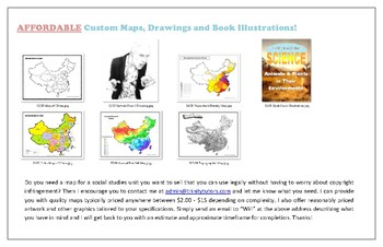 Affordabe Custom Maps, Drawings and Book Illustrations!