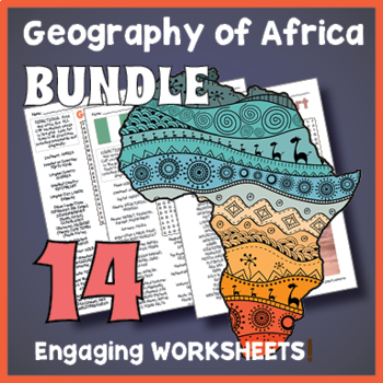 Africa Word Search Puzzle