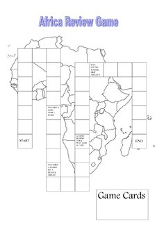 Africa CRCT Review Game
