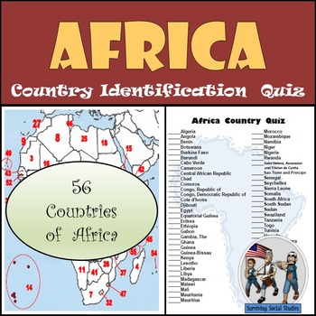 Africa - Country Identification Quiz
