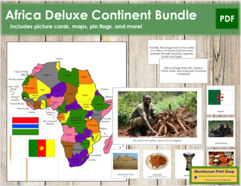 Africa Geography Deluxe Bundle
