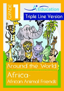 Africa (II): African Animal Friends (with 'Triple-Track Wr
