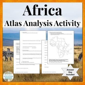Africa Unit Atlas Introduction Activity