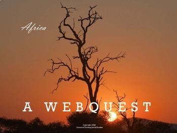 Africa: Webquest with Worksheet