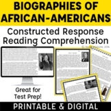 Black History Month: Responding to Inferential Questions w