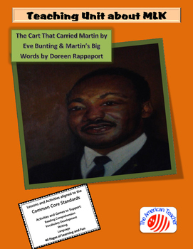 African American History: A Teaching Unit About Dr. Martin