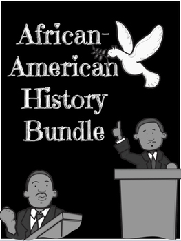 African American History CCSS Bundle