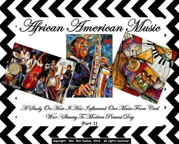 African-American Music (Part 1-PPT Ed.): History/Influence