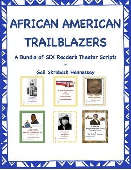 African American Trailblazers(Bundle of SIX Famous African
