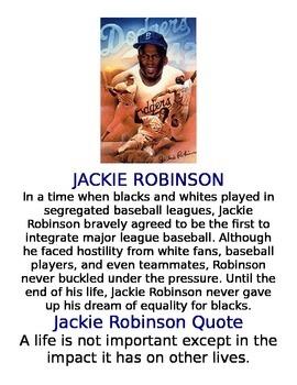 African Americans in Sports Bulletin Board
