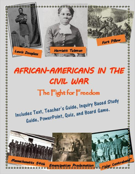 African-Americans in the Civil War mini-unit, including text