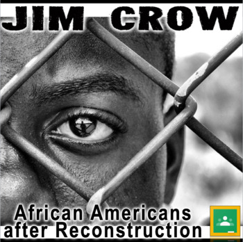 African Americans after Reconstruction/Jim Crow PowerPoint