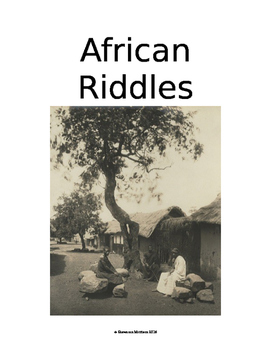 African Riddles:  Culture of Africa