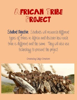 African Tribe Research Project