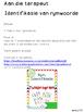 Afrikaans Rym-identifikasie Fonologiese Bewustheid GraadR-3