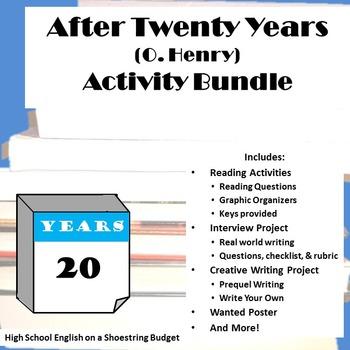 After Twenty Years Activity Bundle (O. Henry) - PDF