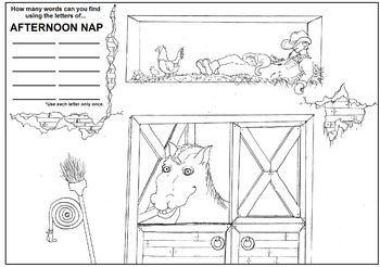 Afternoon Nap Puzzle