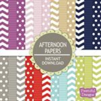 Afternoon Paper Pack