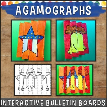 Agamograph Seasonal and Holiday Craft, Bulletin Board Idea
