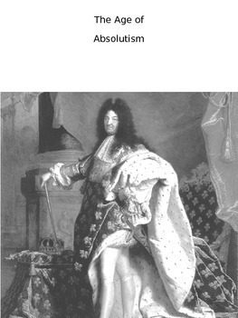 Age of Absolutism Free Note Packet