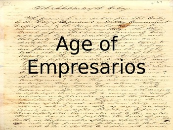 Age of Empresario's PowerPoint