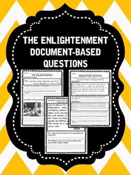 Age of Enlightenment Document-based Questions