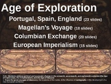 Age of Exploration (ALL 4 PARTS of the visual, textual, en