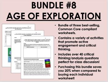 Bundle #8 - Age of Exploration  - Global/World History Com