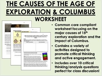 Age of Exploration - Columbus - Global/World History US Hi