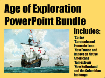 Age of Exploration PowerPoint Bundle for Middle and High S