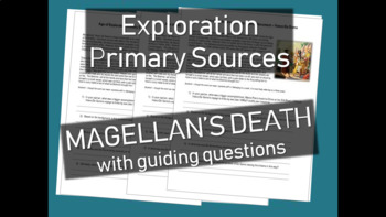 Age of Exploration Primary Source Document - Account of Ma