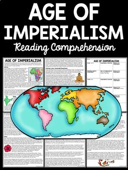 Age of Imperialism Articles, Chart, Overview, Africa, Asia, U.S.