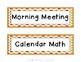 Agenda Schedule Cards - Apple Theme -