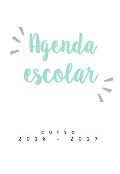 Agenda escolar para el curso 2016/17