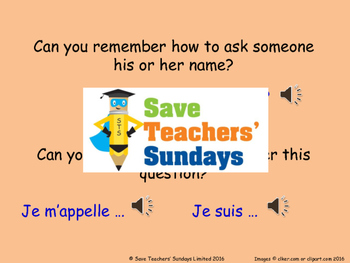 Ages in French Lesson plan, PowerPoint (with audio), Cards