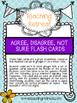 Agree, disagree, not sure flash cards