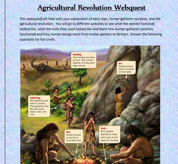 Agricultural/Neolitic Revolution Webquest