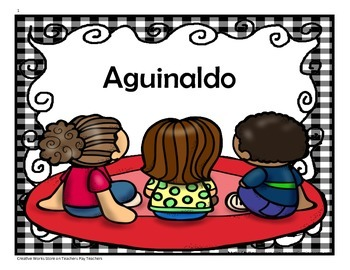 Aguinaldo - 4th Grade - Tri folds + Activities