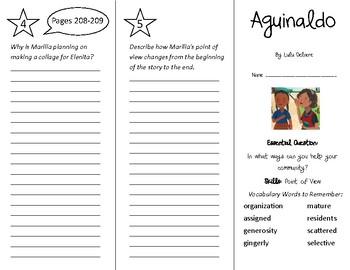 Aguinaldo Trifold - Wonders 4th Grade Unit 3 Week 2