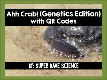 Ahh Crab! QR Code Review Card Game Genetics Edition